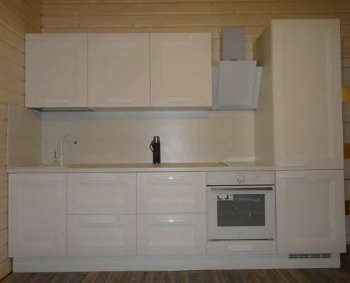 Классические кухни c пленочными фасадами