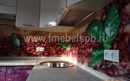 Кухни с 3D панелями