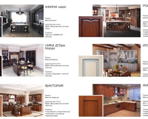 Скидка 35% на некоторые модели мебельных фасадов