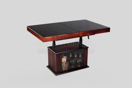 Раздвижной стол с баром