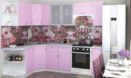 Модульная кухня «Ирис принт»
