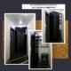 Встраиваемый шкаф со складными дверями