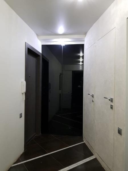 черные двери для шкафа-встройки