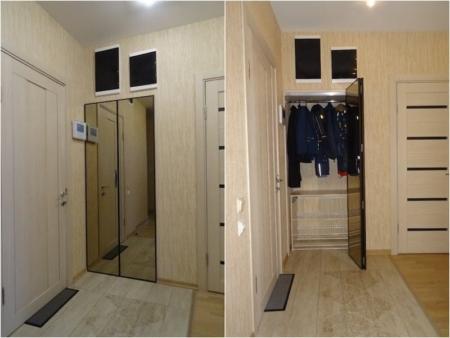 складные двери в гардеробной
