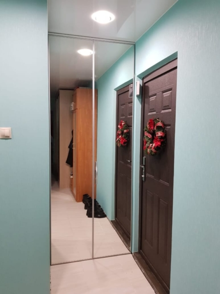 Складная дверь HETTICH
